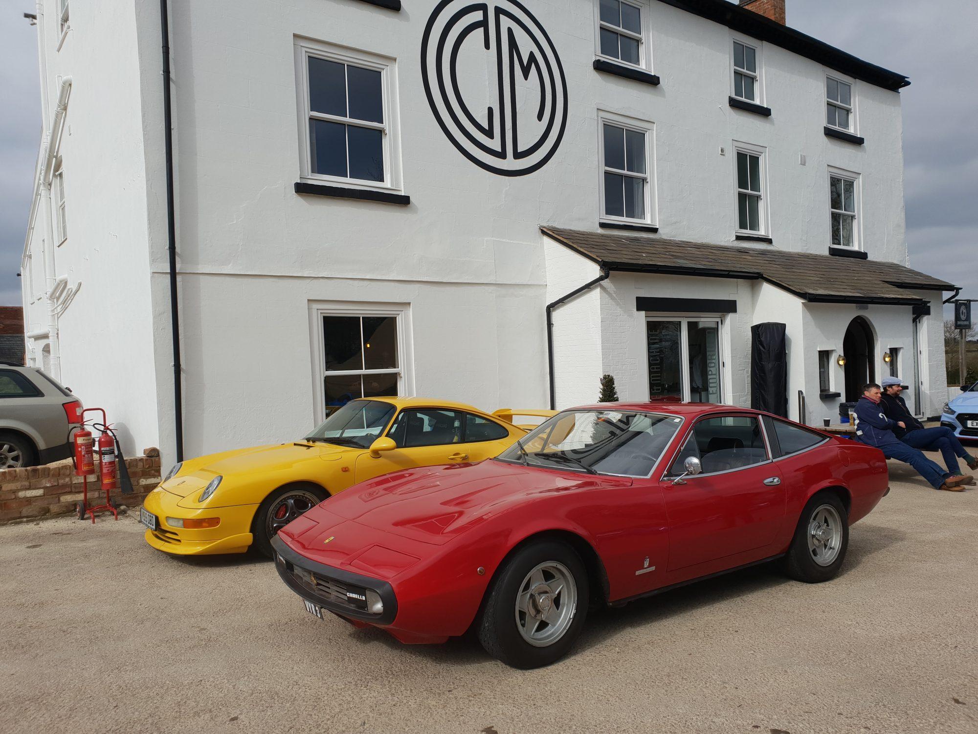 Caffeine & Machine, motoring, car venue, car meet, car club, Ferrari, Porsche