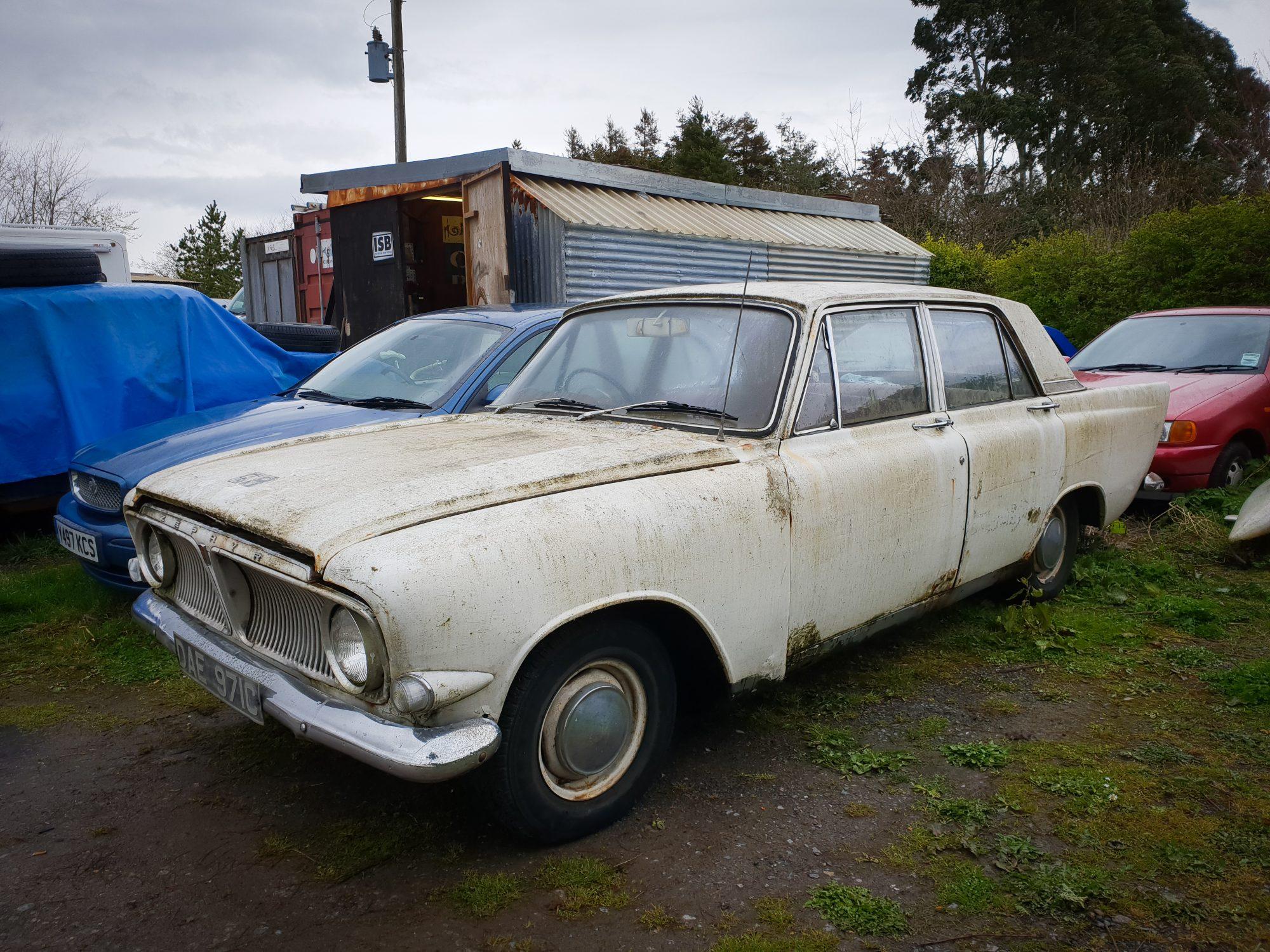 Ford, Ford Zephyr, Zephyr, restoration project, Zephyr front