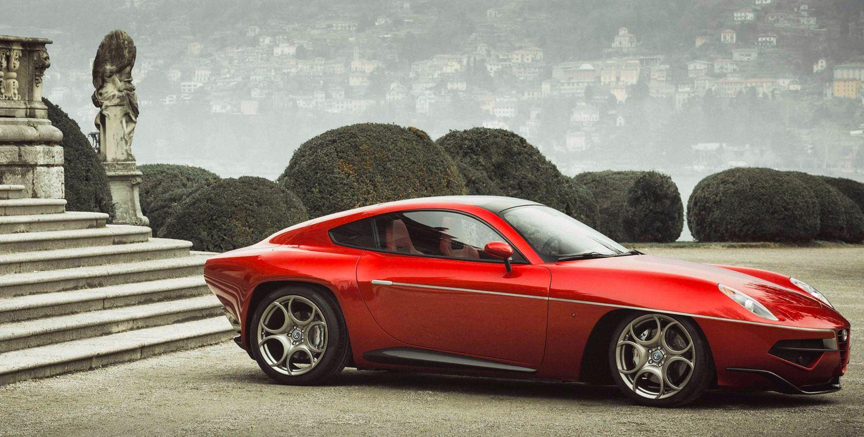 Disco Volante, Alfa Romeo, 8C