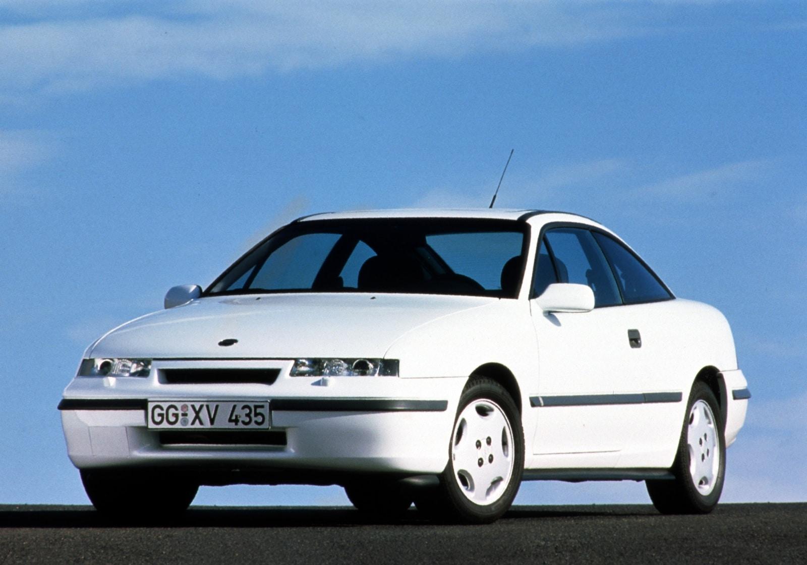Vauxhall, Vauxhall Calibra, Vauxhall heritage, Calibra pre-facelift