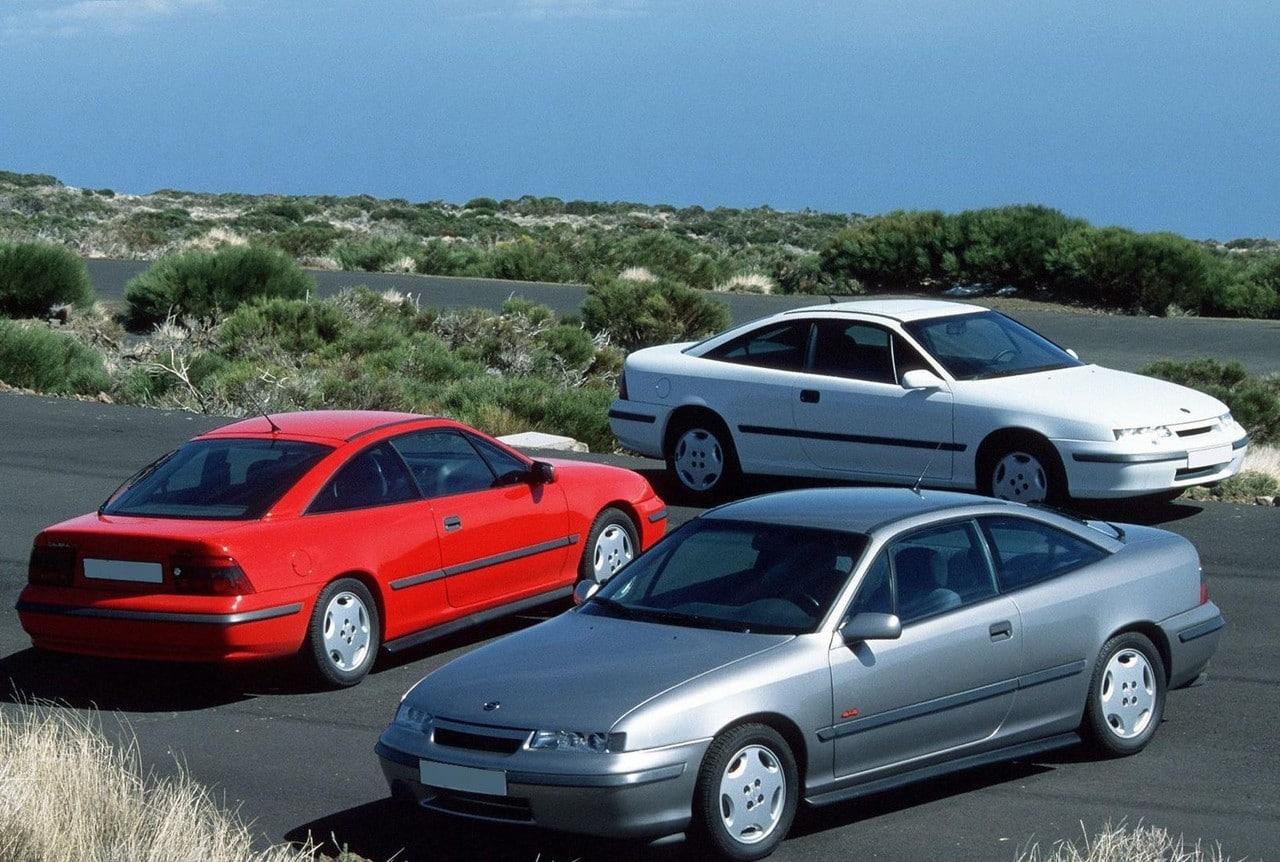 Vauxhall, Vauxhall Calibra, Vauxhall heritage, Calibra launch model