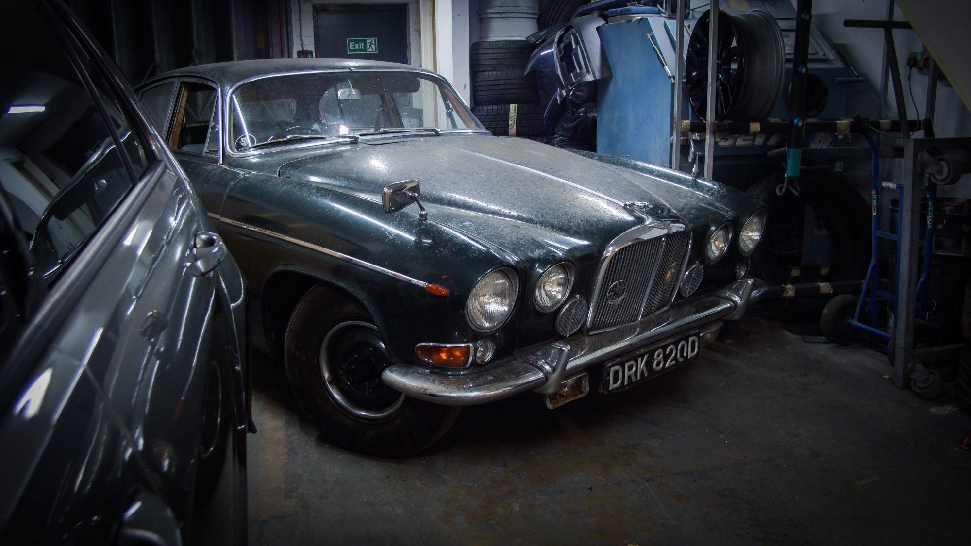 Jaguar, Jaguar 420G, 420G, The Krays, Ronnie and Reggie Kray, classic car