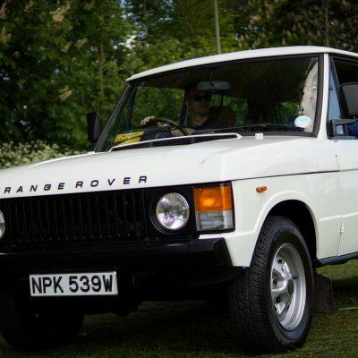 Wallingford, Wallingford vehicle rally, classic car, car meet, car event, Range Rover