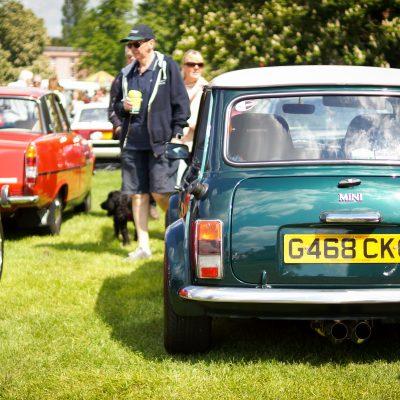 Wallingford, Wallingford vehicle rally, classic car, car meet, car event, Mini