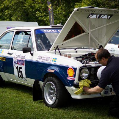 Wallingford, Wallingford vehicle rally, classic car, car meet, car event, Ford Mk2 Escort