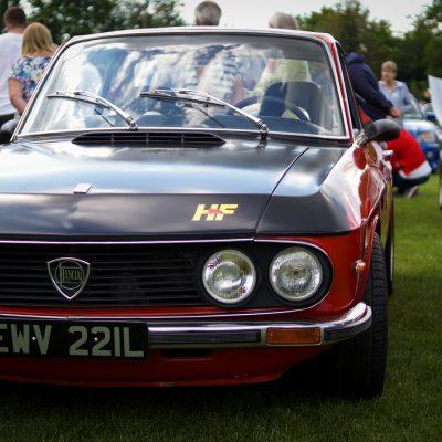 Wallingford, Wallingford vehicle rally, classic car, car meet, car event, Lancia, Flavia