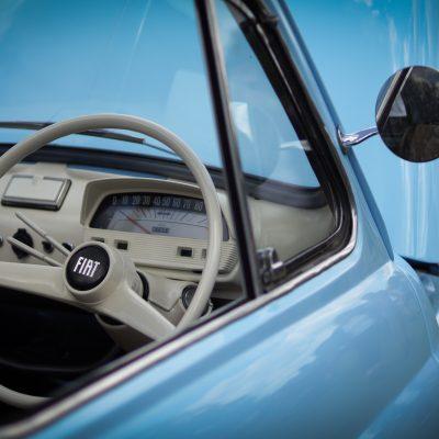 Wallingford, Wallingford vehicle rally, classic car, car meet, car event, Fiat 500