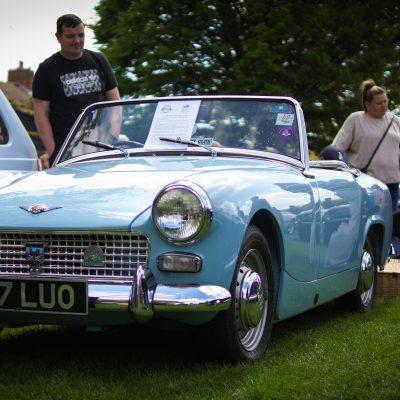 Wallingford, Wallingford vehicle rally, classic car, car meet, car event, MG, Midget