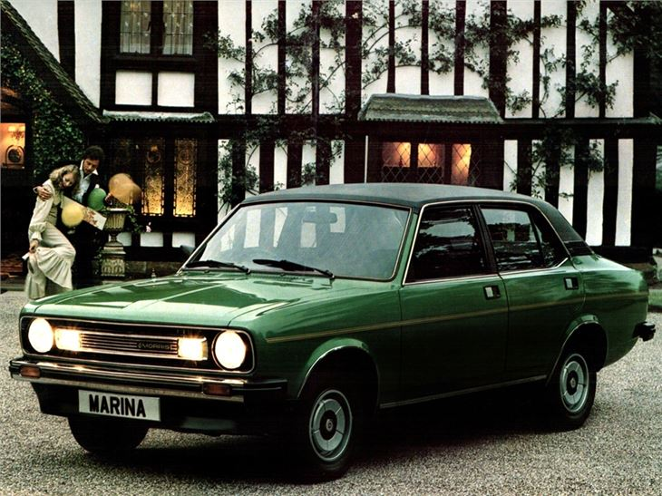 Morris Marina, Morris, Marina, British Leyland