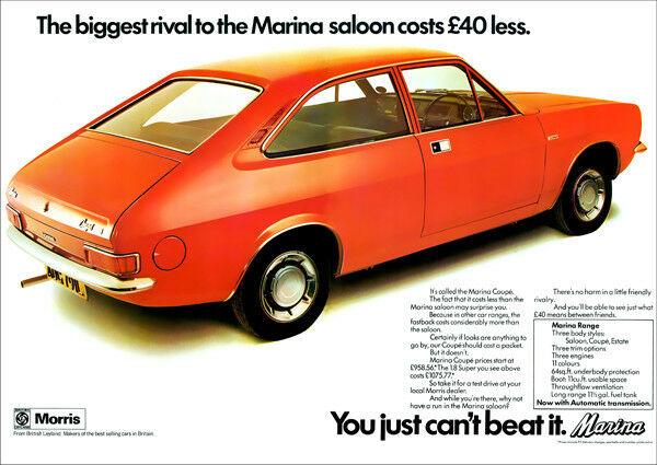 Morris Marina Coupe, Morris, Marina, British Leyland