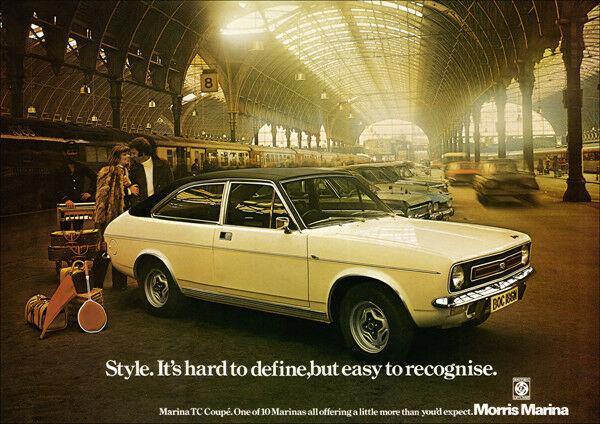 Morris Marina advertisement , Morris, Marina, British Leyland