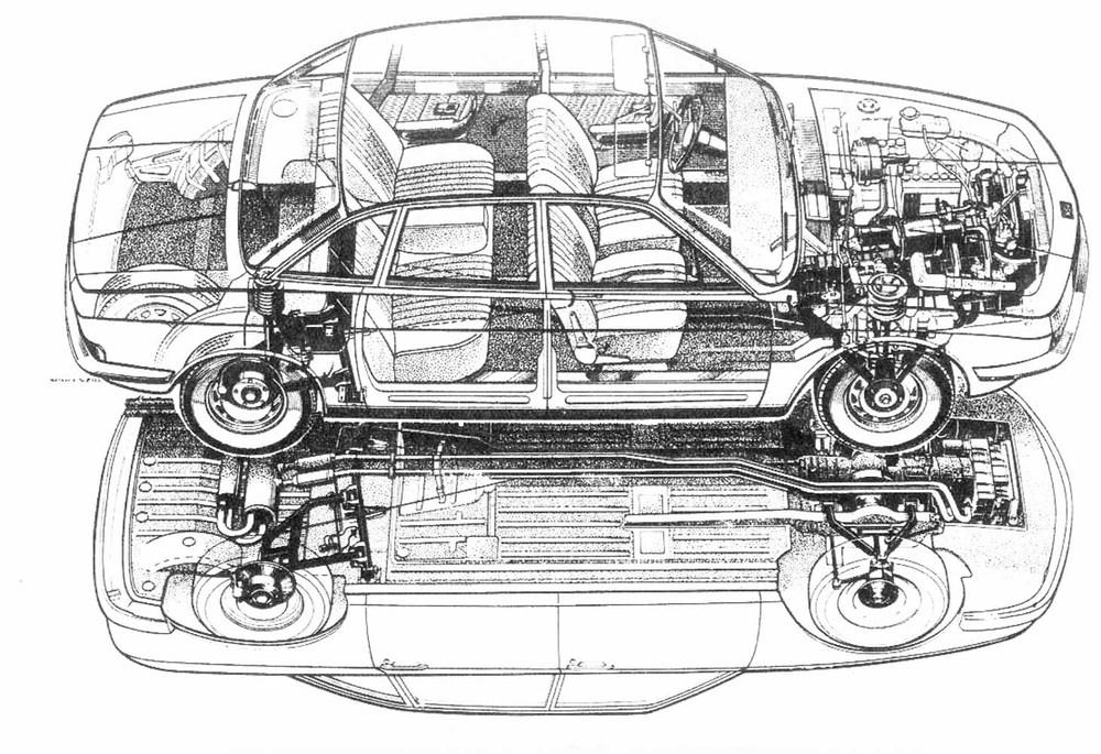 NSU, NSU Ro80, Rotary, Wankel, Auto Union, Ro80 cutaway