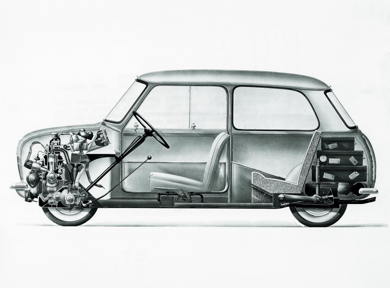 Mini, Austin Mini, Rover Mini, Classic Mini, Mini Buying guide, Mini cutaway