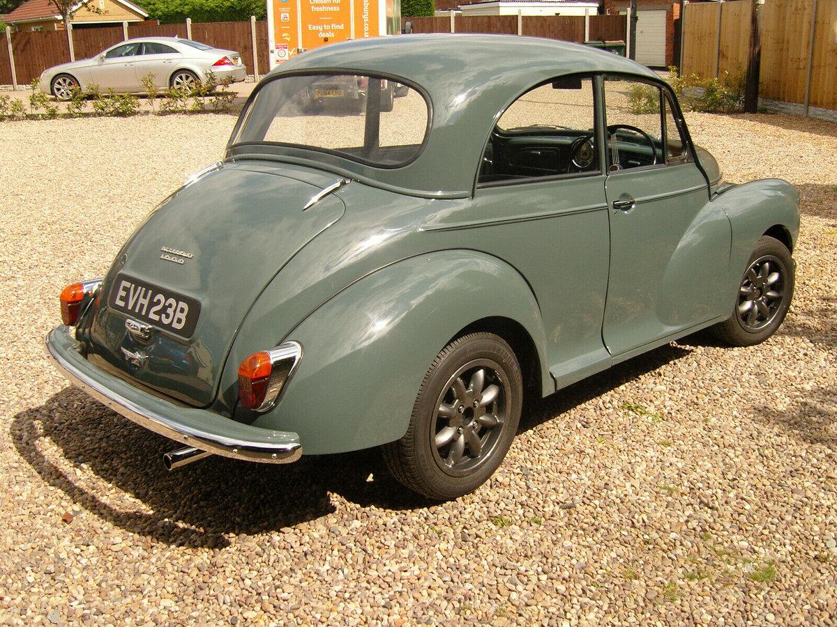 Morris Minor, Morris, Minor, modified classic car, Fiat Twin Cam, Morris Minor rear