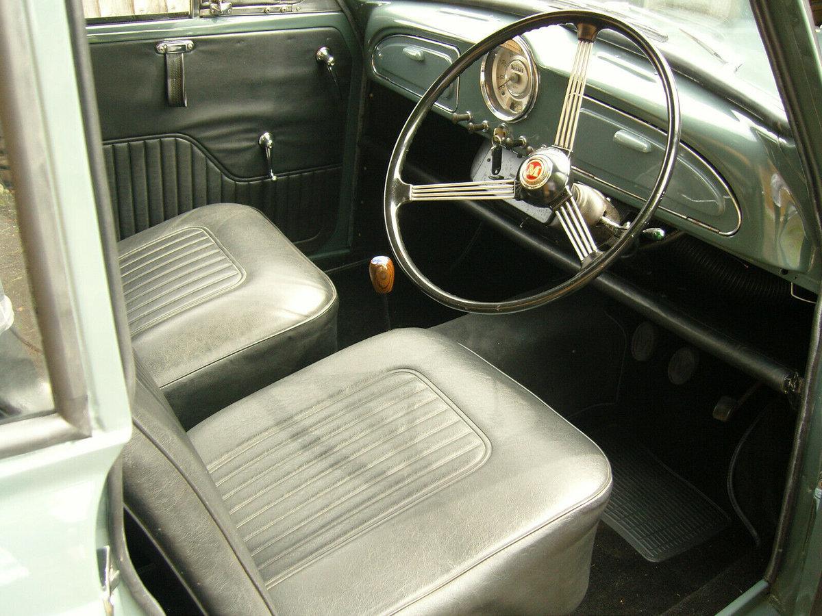 Morris Minor, Morris, Minor, modified classic car, Fiat Twin Cam, Morris Minor engine, Morris Minor interior
