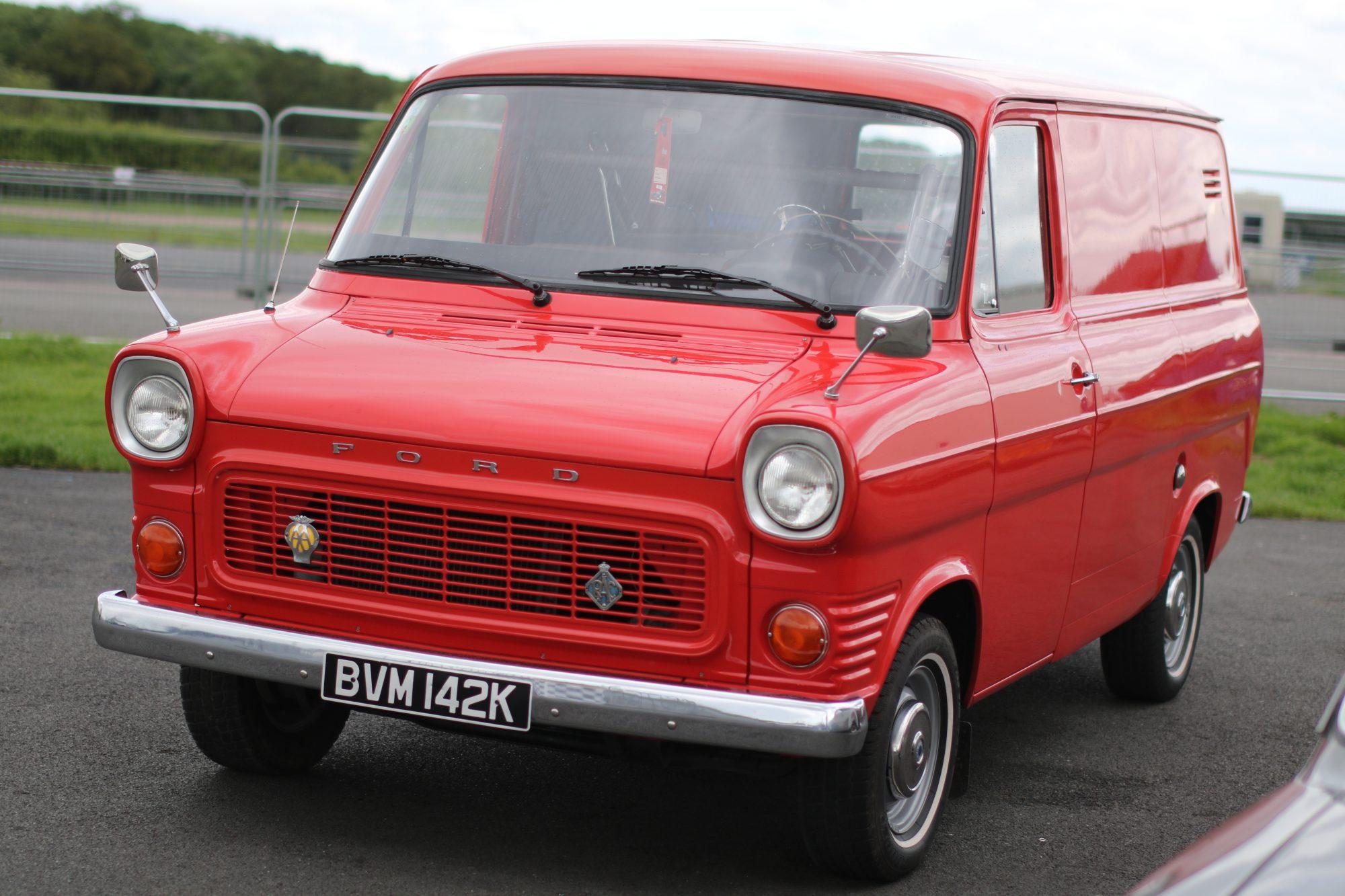 Retro Show, Retro cars, motoring, automotive, car show, car meet, classic car, Ford Transit