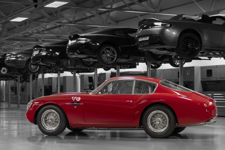 Aston Martin, Aston martin DB4 Zagato, DB4, Zagato, Zagato Continuation, classic car, retro car, classic race car, motoring, automotive, British car, carandclassic, carandclassic.co.uk