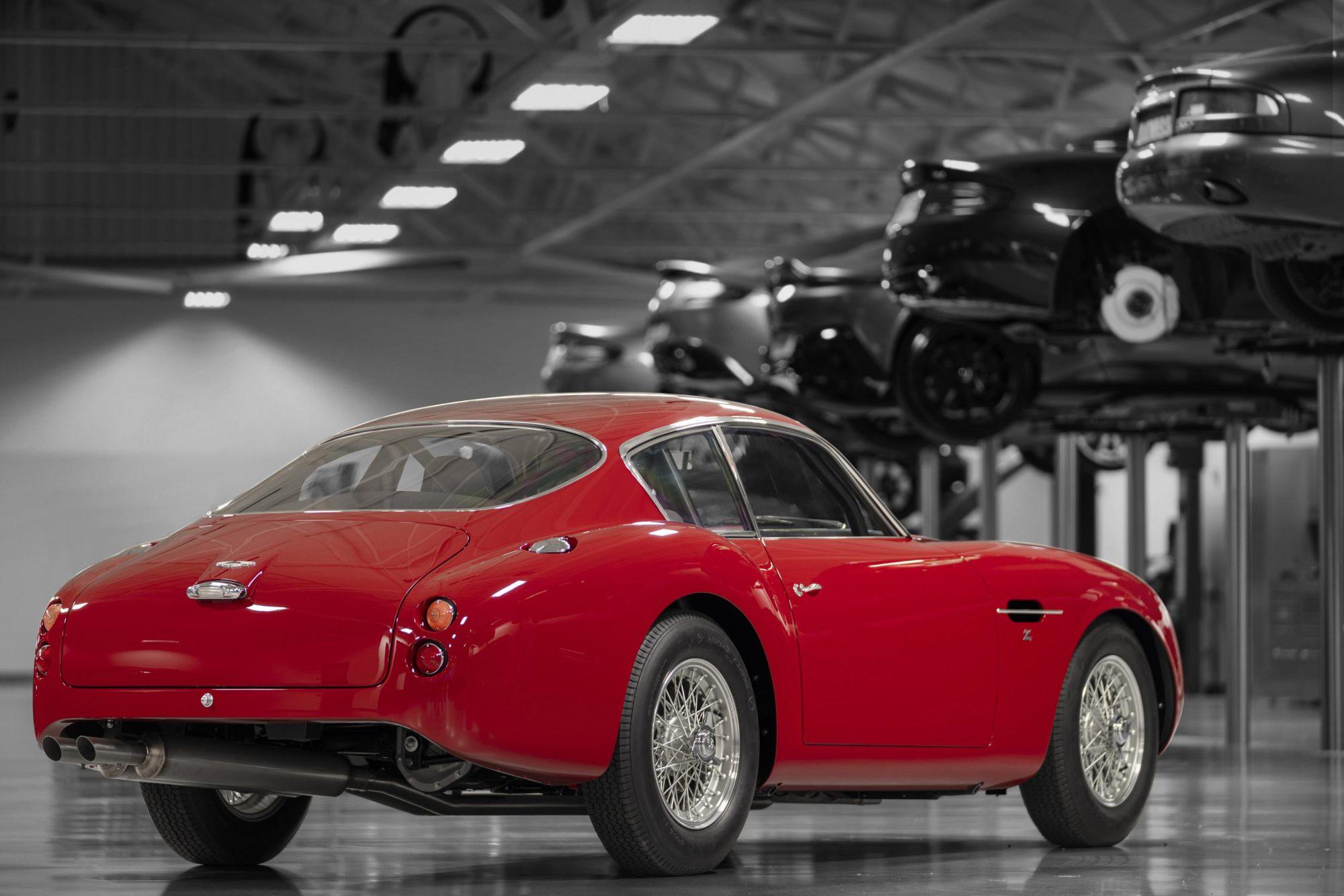 Aston Martin, Aston martin DB4 Zagato, DB4, Zagato, Zagato Continuation, DB4 rear