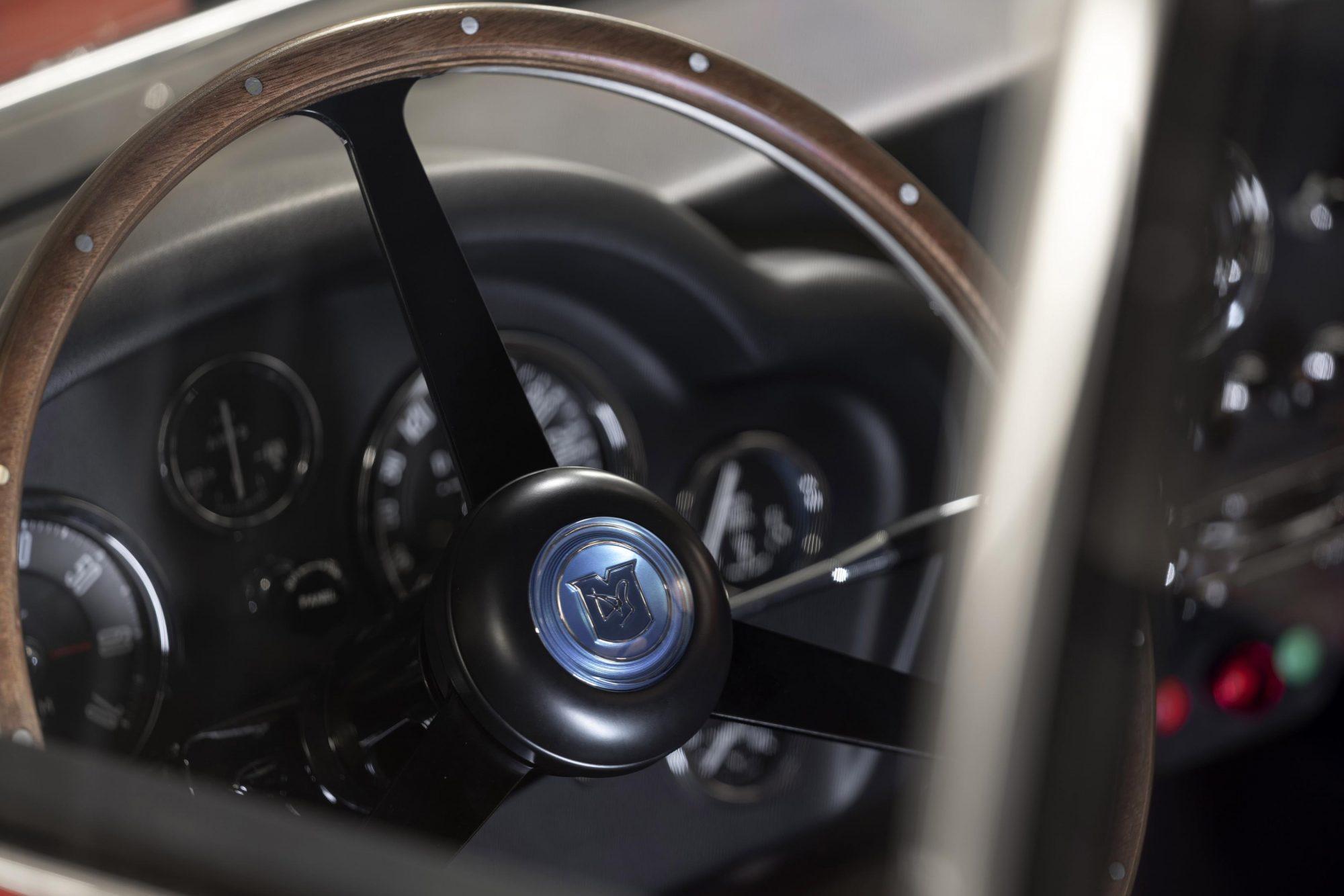 Aston Martin, Aston martin DB4 Zagato, DB4, Zagato, Zagato Continuation, DB4 interior