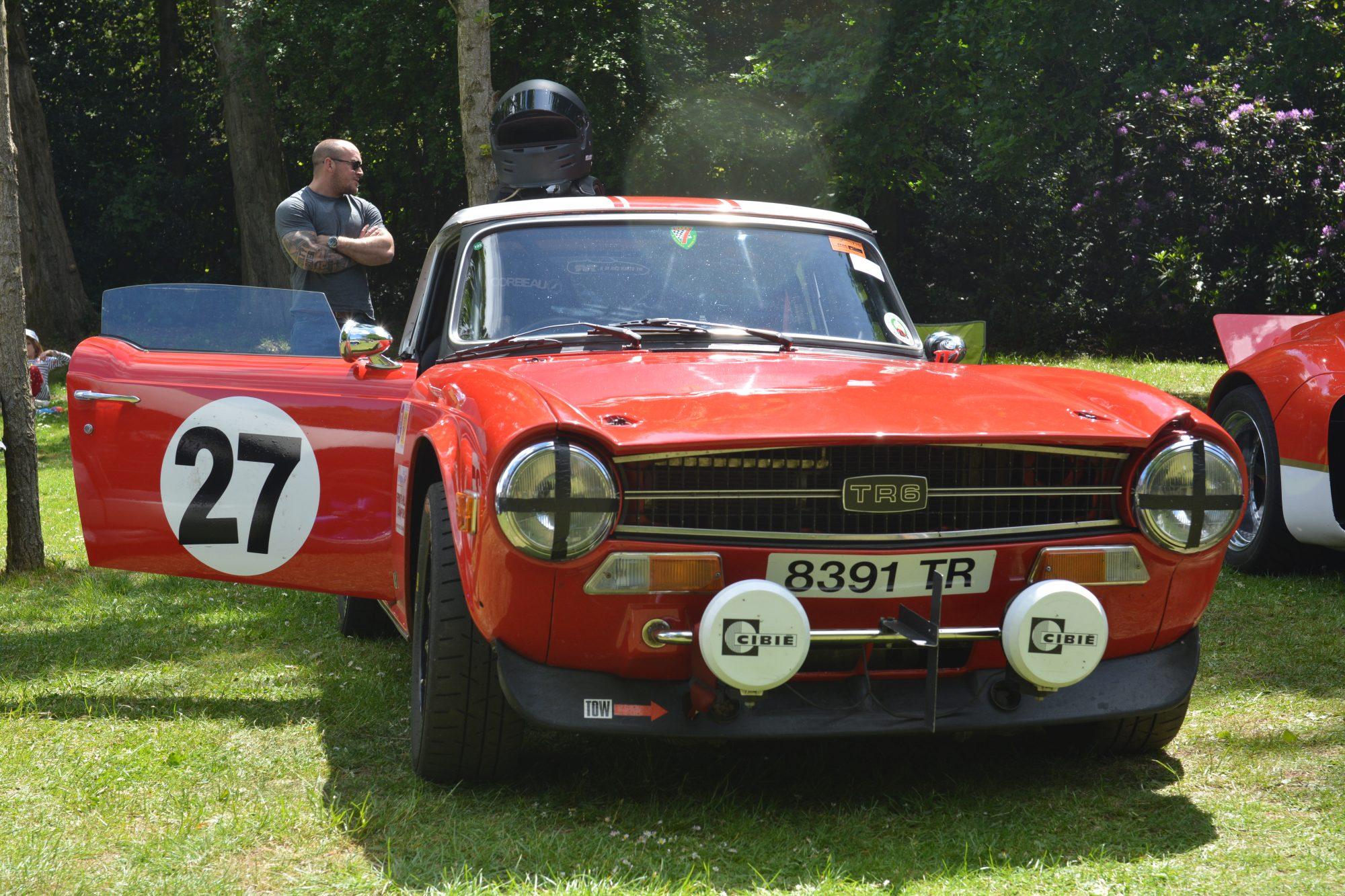 Motorsport, Motorsport at the Palace, Crystal Palace, London car show, classic car, show, classic motorsport, TR6
