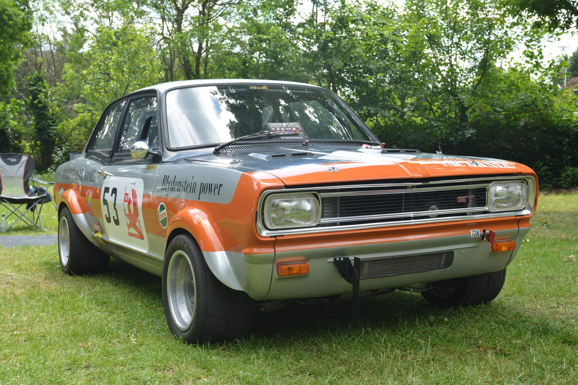 Motorsport, Motorsport at the Palace, Crystal Palace, London car show, classic car, show, classic motorsport, TR6, Vauxhall Viva GT