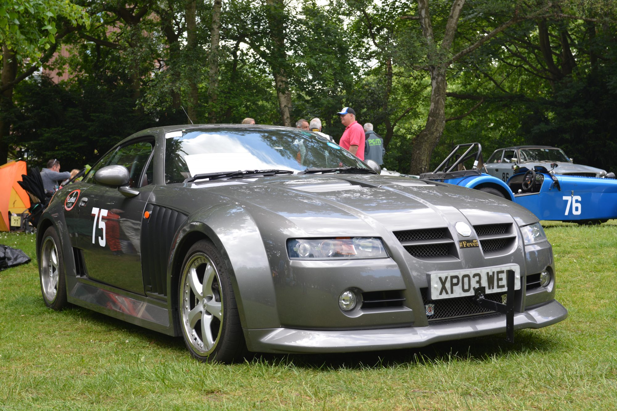 Motorsport, Motorsport at the Palace, Crystal Palace, London car show, classic car, show, classic motorsport, MG SV front