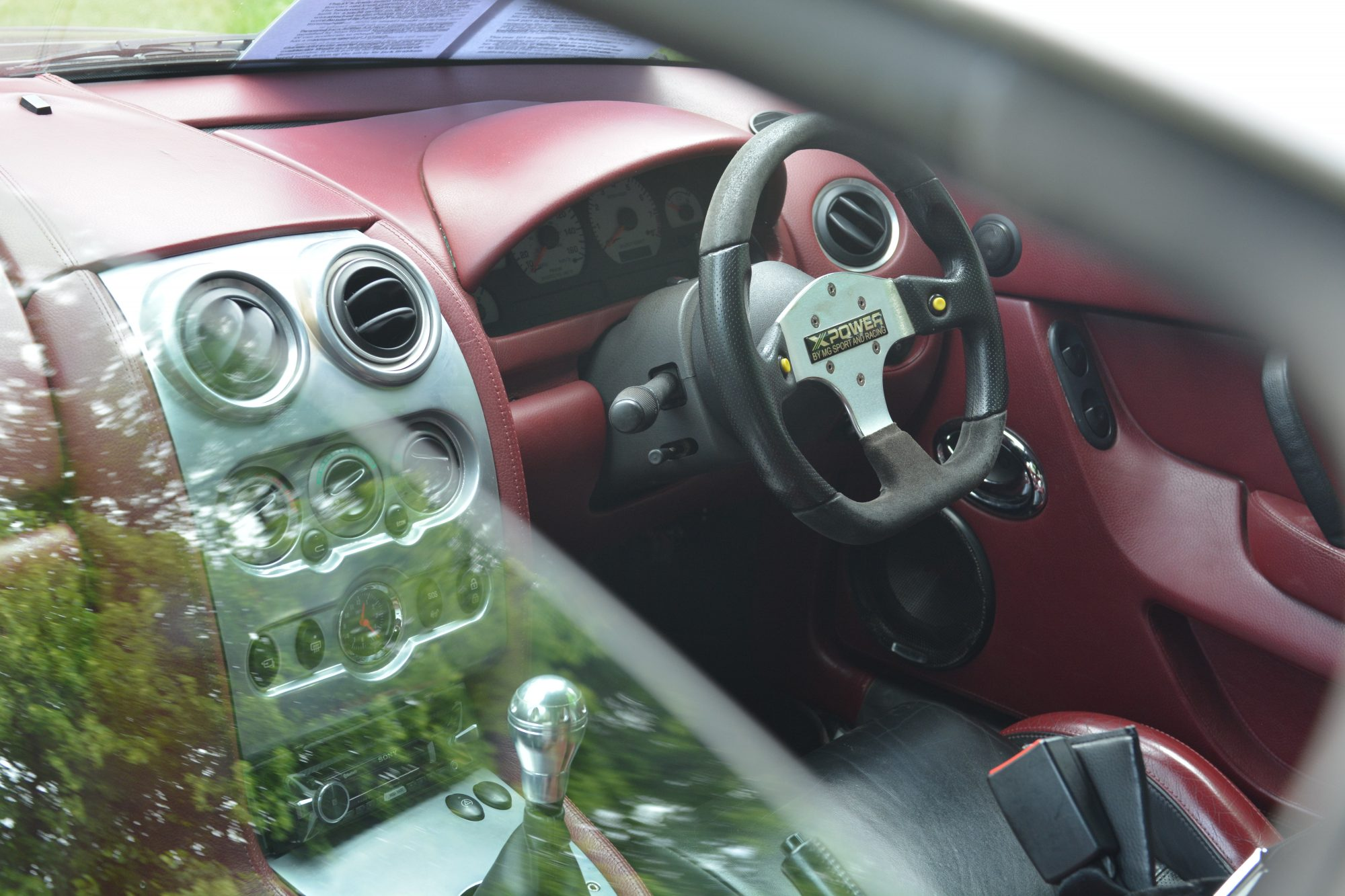 Motorsport, Motorsport at the Palace, Crystal Palace, London car show, classic car, show, classic motorsport, MG SV interior