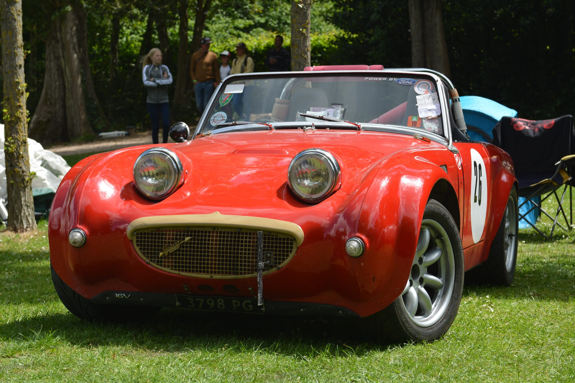 Motorsport, Motorsport at the Palace, Crystal Palace, London car show, classic car, show, classic motorsport, TR6, Frogeye Sprite