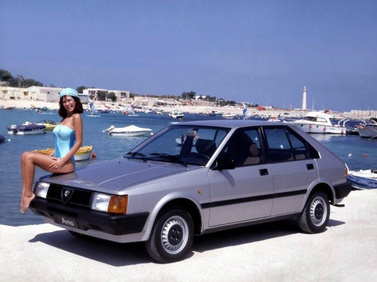 Alfa Romeo, Arna, Alfa Romeo Arna, Nissan, Nissan Cherry, Cherry, Italian Car