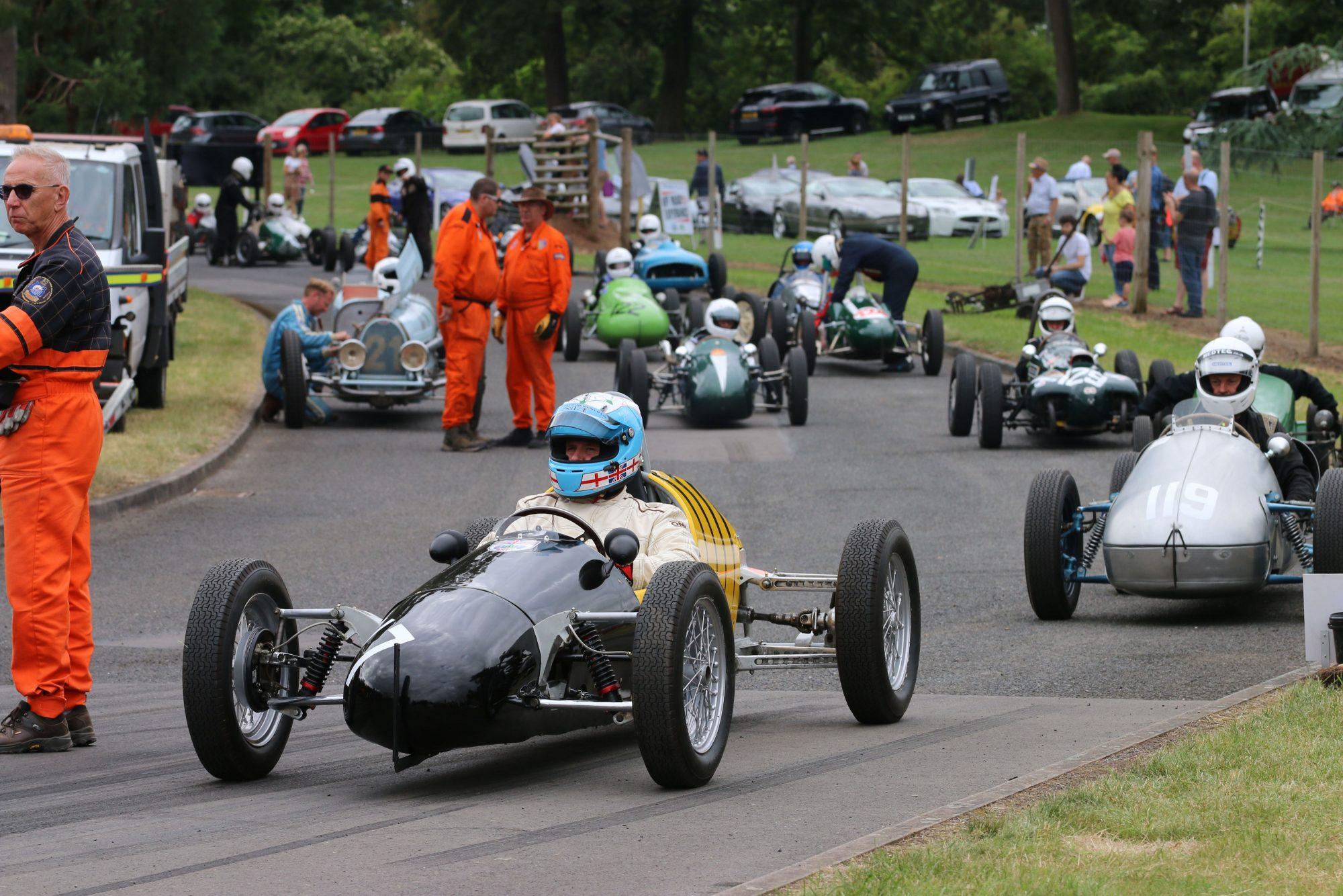 Chateau Impney, hillclimb, hill climb, sprint, motorsport, classic motorsport, Impney