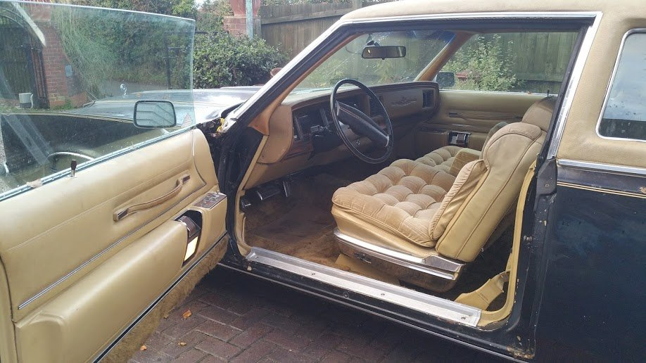 Chrysler, Chrysler Le Baron, Le Baron, 440 V8, V8, classic American, American car, classic car, retro car, project car, project classic, motoing, automotive, carandclassic, carandclassic.co.uk