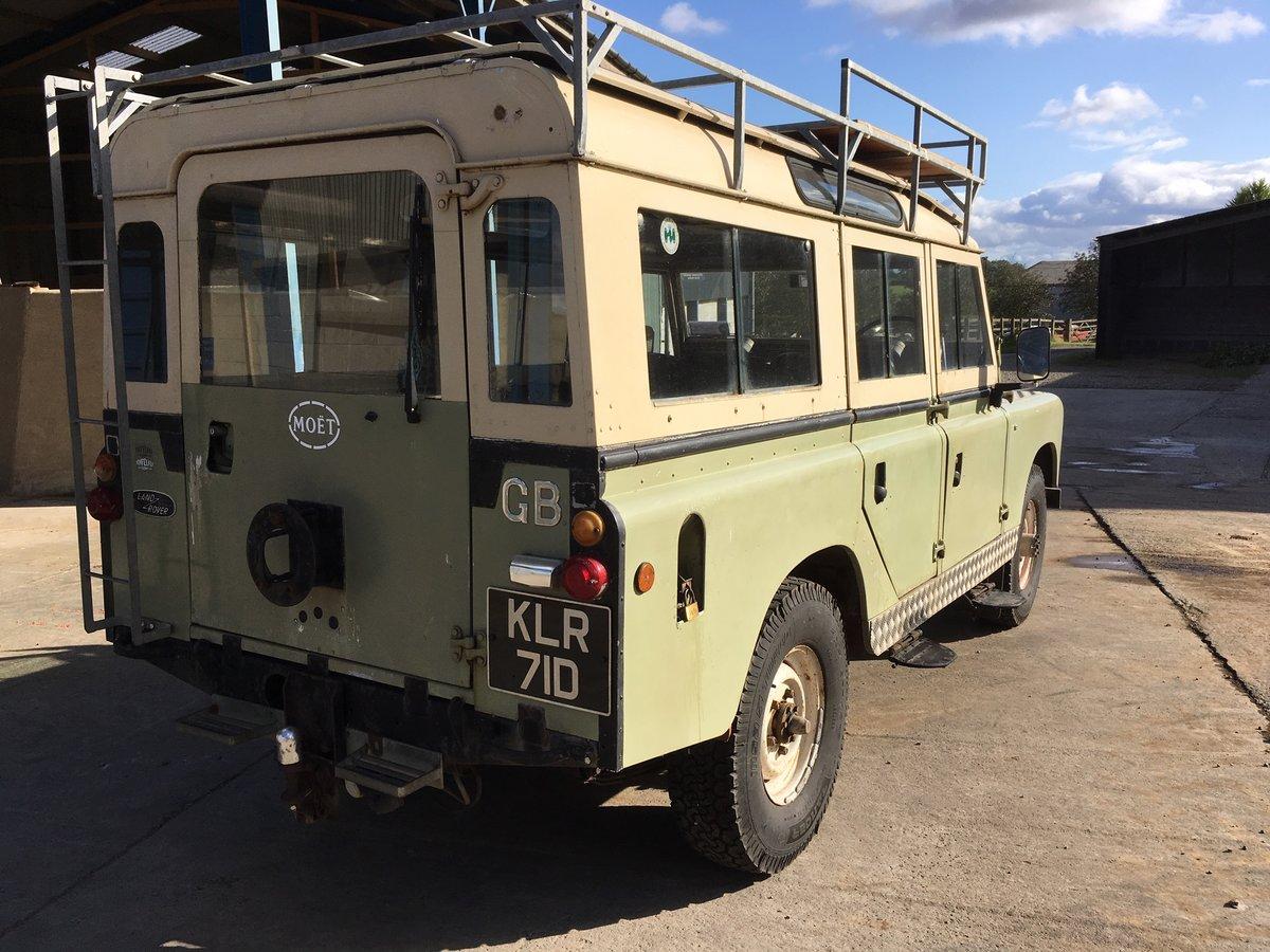 Land Rover, Land Rover 109, Land Rover Safari, Safari, Land Rover project, project car, retro car, classic car, restoration projkect, carandclassic, carandclassic.co.uk