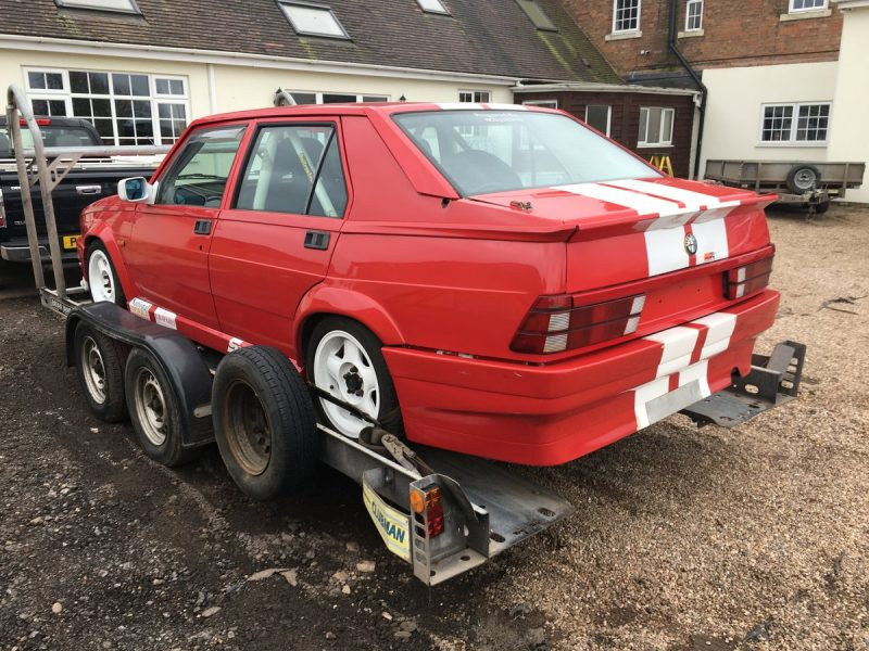 1988 Alfa Romeo 75 – Project Profile