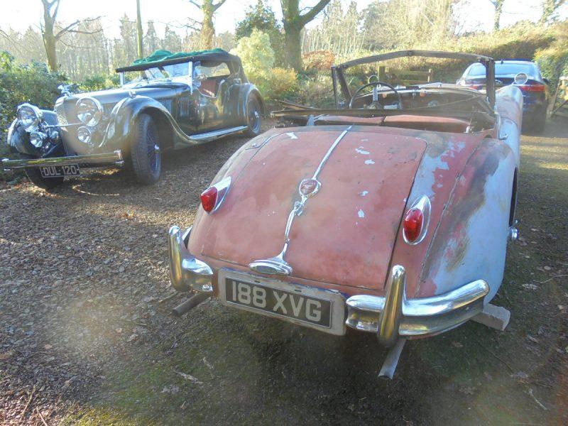 1957 Jaguar XK140 – Project Profile