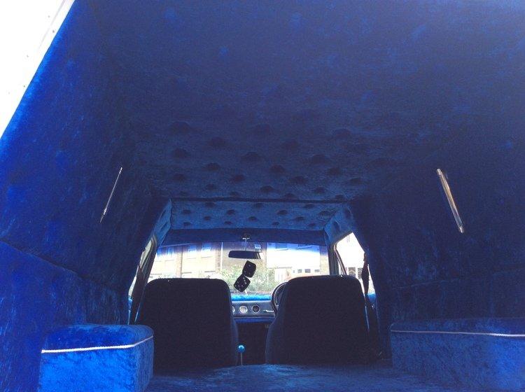 Austin, Austin van, custom van, custom car, V6, Essex V6, Jaguar IRS, slot mags, modified classic, show car, street machine, motoring, automotive, car and classic, carandclassic.co.uk, classic car, retro car, project car