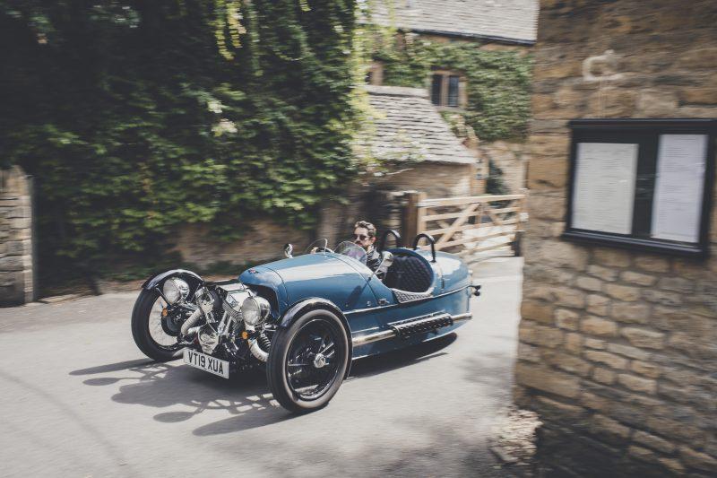 Morgan, Morgan 3 Wheeler, 3 Wheeler, classic car, retro car, motoring, automotive, classic car, retro car, Morgan, three wheeler, v twin, Malvern, carandclassic, carandclassic.co.uk