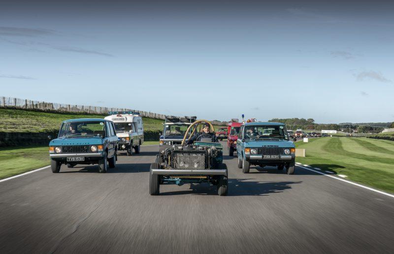 Range Rover, Goodwood, Goodwood Speedweek, classic car, retro car, motoring, automotive, classic car, 4x4, Land Rover, Land Rover Range Rover, fifty years of Range Rover