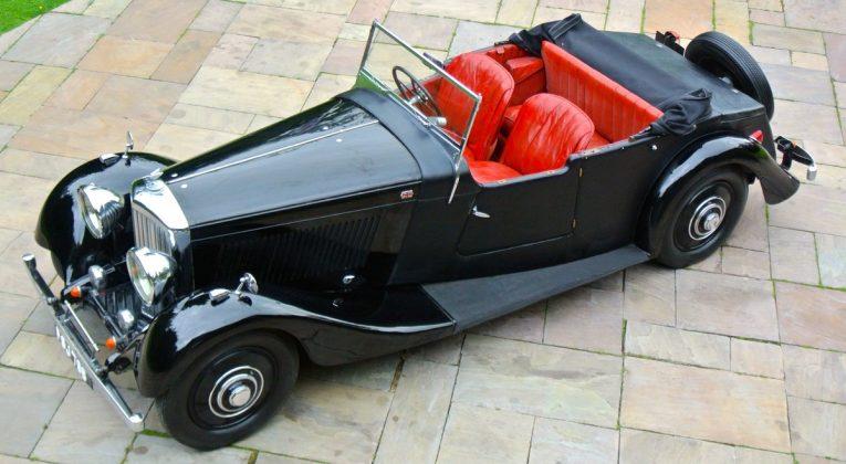 Bentley, Bentley 3 1/2 litre, Bentley Tourer, Windovers, Bentley Windovers, vintage car, classic car, pre-war car, motoring, automotive, car and classic, carandclassic.co.uk
