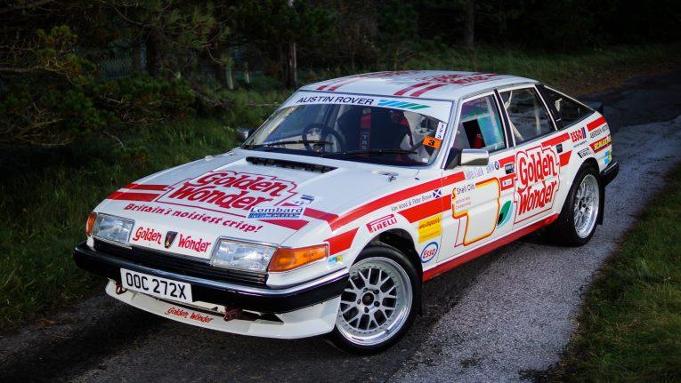 Rover, SD1, Rover SD1, Ken Wood, Tony Pont, Scottish Rally Championship, rally car, race car, motorsport, classic motorsport, British Leyland, motoring, automotive, Car and Classic, Car ad Classic Auctions, V8, Vitesse, Rover Vitesse