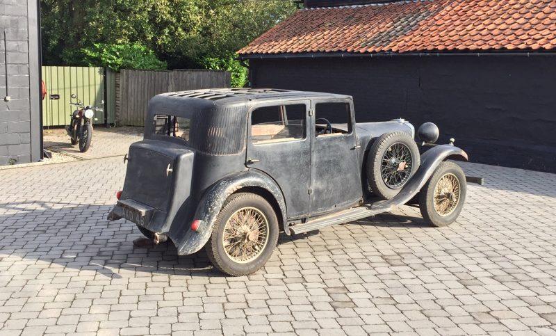 Talbot, Talbot AW75, Talbot 75, pre-war car, classic car, vintage car, project car, restoration project, motoring, automotive, classic car, retro car, car and classic, carandclassic.co.uk