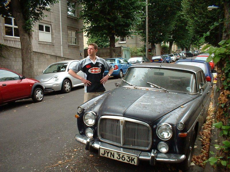 P5B, Rover P5B, Rover, Rover V8, banger racing, project car, restoration project, classic car, retro car, car and classic, carandclassic.co.uk, motoring, automotive, car, cars
