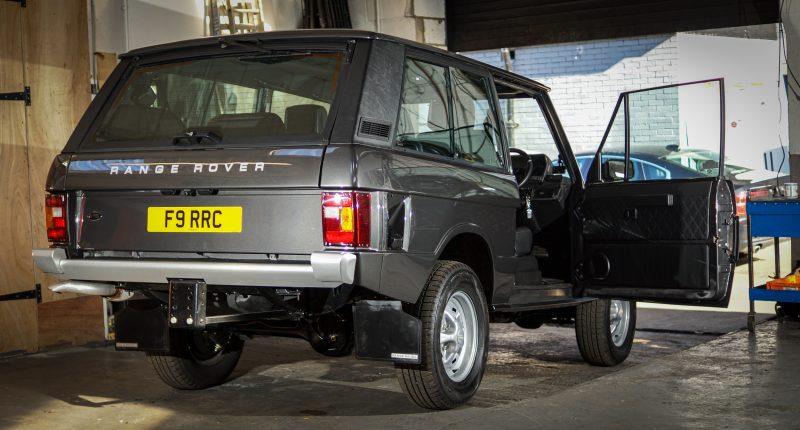 Range Rover, Range Rover Restoration, RRR, Range Rover Classic, Range Rover two-door, motoring, automotive, classic car, retro car, car and classic, car and classic auctions, motoring, automotive, restomod, car, cars