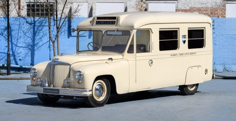 Daimler, Ambulance, Daimler DC 27, camper, classic car, retro car, camper conversion, motoring, automotive, retro car, car and classic, carandclassic.co.uk, retro car