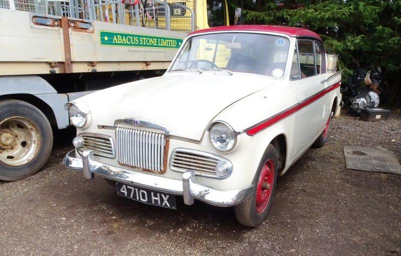 Rapier, Sunbeam, Sunbeam Rapier, classic car, retro car, motoring, automotive, car and classic, carandclassic.co.uk, project car, barn find, classic, retro