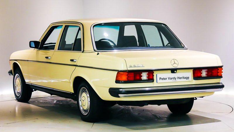 W123, W123 230E, Mercedes-Benz, Mercedes-Benz W123, German classic, oldtimer, classic car, retro car, motoring, automotive, car and classic, carandclassic.co.uk, motoring, automotive,