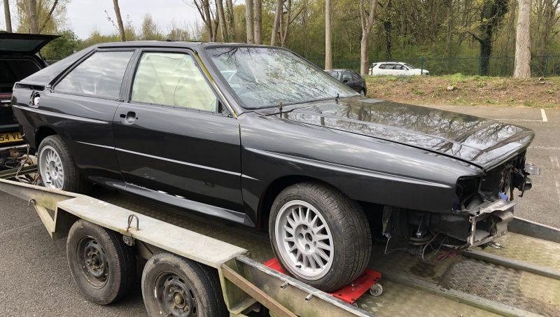 Audi, Quattro, Ur Quattro, 20v Quattro, Audi Ur Quattro, turbocharged, rally, rally car, retro car, classic car, project car, restoration project, car and classic, carandclassic.co.uk, motoring, automotive, car build, Audi Quattro project