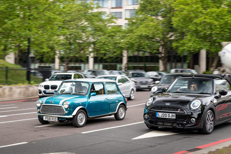London Electric Cars, Mini, Classic Mini, Rover Mini, Austin Mini, motoring, automotive, classic, retro, EV, electric car, motoring, automotive, electric conversion, car and classic, carandclassic.co.uk