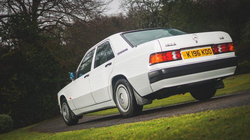 mercedes 190e car and classic