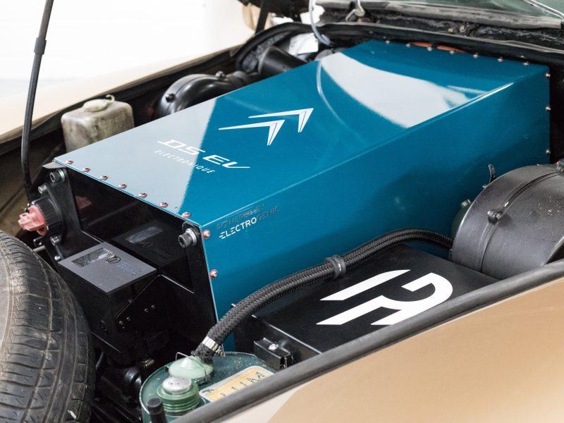 Electrogenic, Citroën DS, DS, Citroën, Electrogenic Citroën DS, classic electric car, electric conversion, EV, motoring, automotive, classic car, retro car, zero emission car, car and classic, carandclassic.co.uk,