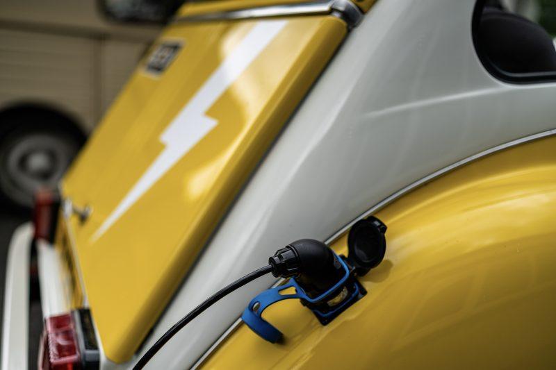 electric 2cv, electric, 2CV Shop, electric classic, classic electric conversion, classic car, zero emission, ev, battery power, car and classic, carandclassic.co.uk, Chris Pickering, motoring, automotive, classic, retro